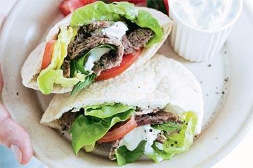 ricetta kebab tzatziki